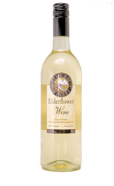Lyme Bay Elderflower Wine 75cl 11% (image 1)