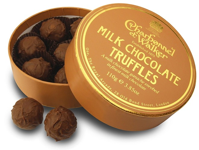 Charbonnel Walker Milk Chocolate Truffles 110g