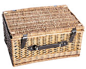 Medium Wicker Hamper 18 Inch