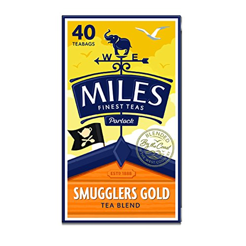 Miles Smugglers Gold Teabags 40pc