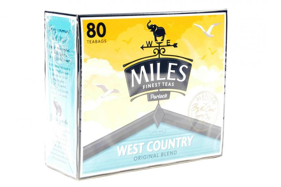 Miles Teabags 250g 80pc