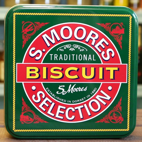 Moores Biscuits in Retro Tin 250g