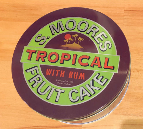 Moores Tropical Fruit Cake 1200g Tin