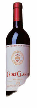Mouton Cadet Bordeaux Claret 75cl 12.5%