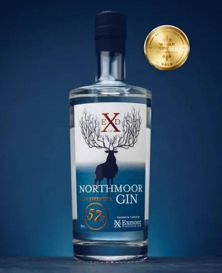 Northmoor Navy Strength Gin 70cl