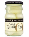 Opies Peeled Quail Eggs 12pc
