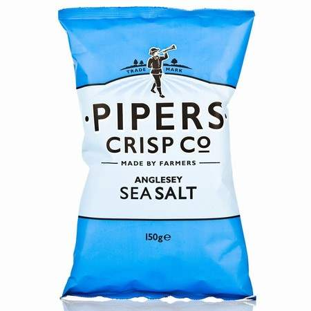 Pipers Anglesey Sea Salt Crisps 150g