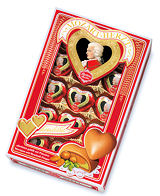 Reber Mozart Hearts 150g 15pc Giftbox