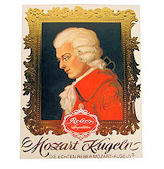 Reber Mozart Kugeln Chocolates 120g 6pc Giftbox