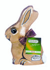 Riegelein Diabetic Milk Chocolate Bunny In Gold Foil 125g (image 1)