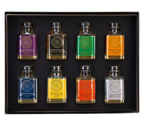 Rosemullion Distillary Miniature Giftbox Set 8 x 05cl