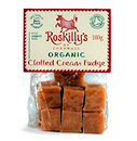 Roskillys Organic Clotted Cream Fudge 100g