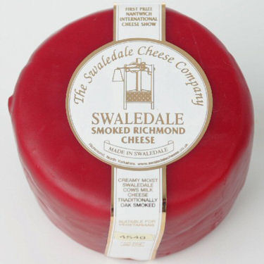 Swaledale Richmond Smoked Cheddar