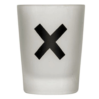 Sagaform Noughts and Crosses Glass