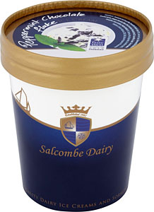 Salcombe Stem Ginger Ice Cream 500ml