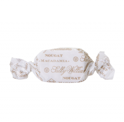 Sally Williams Macadamia Nougat; individually wrapped