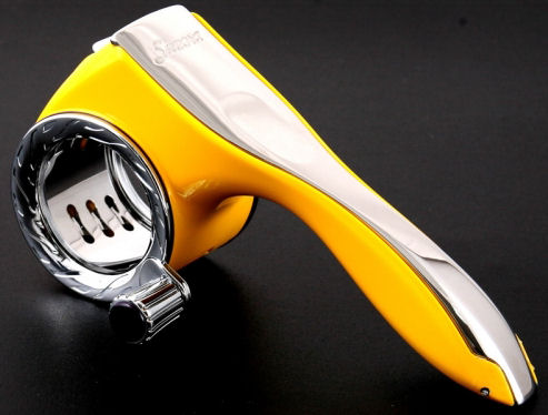 Savora Rotary Grater in Citron Yellow (image 1)