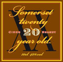 Somerset Cider Brandy 20 Year 50cl 42%