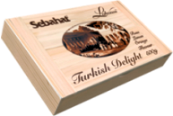 Sebahat Assorted Turkish Delight 500g Wooden Cigar Box