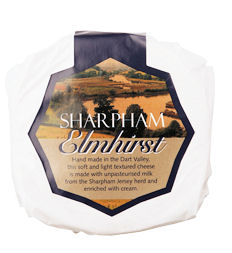 Quarter Sharpham Elmhirst Cheese 180G+