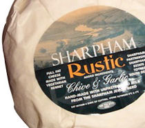 Sharpham Devon Rustic With Chives And Garlic