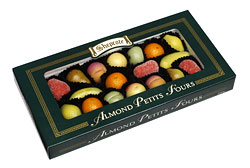 Shepcote Marzipan Fruits 190G Green Box 17pc
