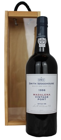 Smith Woodhouse Madalena Vintage Port 1996 75cl Box