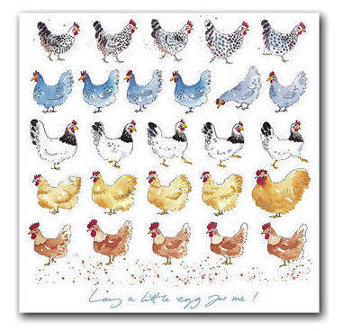 Sophie Allport Greeting Card - Lay A Little Egg For Me! (image 1)