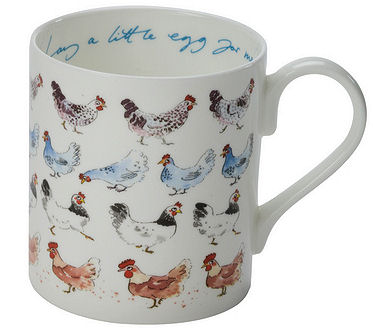 Sophie Allport Large Mug - Chicken Lay a Egg for Me (image 1)