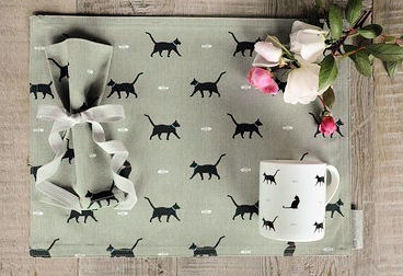 "Sophie Allport Black Cat and Bone Mug; why not other choose other ""Cat and Bone"" gifts in the range?"