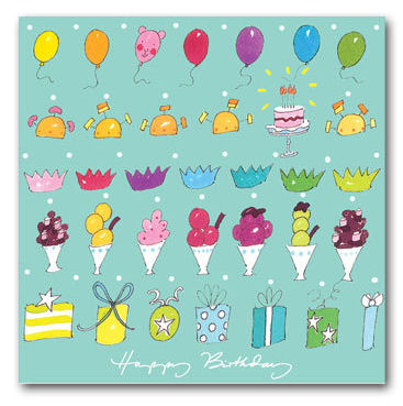 Sophie Allport Greeting Card - Happy Birthday (image 1)