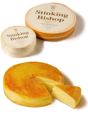 Stinking Bishop Cheeses