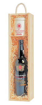 Port & Stilton Gift Box in Wood
