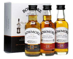 Bowmore Islay Collection 3 X 50ML