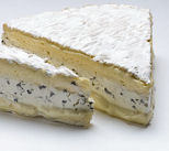 French Brie With Truffles | Brie Truffe Cheese 1kg Wedge