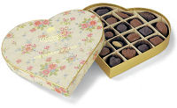 Charbonnel Walker Vintage Fine Chocolate Selection 255g Heart