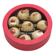 Charbonnel Walker Strawberry White Chocolate Truffles 125g