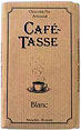 Cafe Tasse White Chocolate 85g
