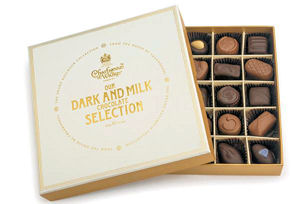 Charbonnel Walker Fine Milk and Dark Chocolates 325g