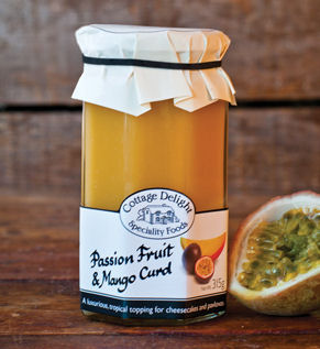Cottage Delight Passion Fruit & Mango Curd 315g