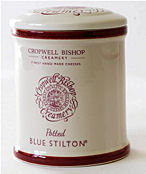 Cropwell Bishop Blue Stilton Ceramic Jar 300g