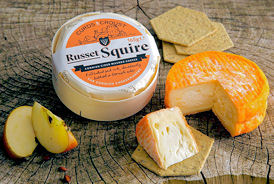 Curds & Croust Russet Squire Washed Rind Cheese 165g