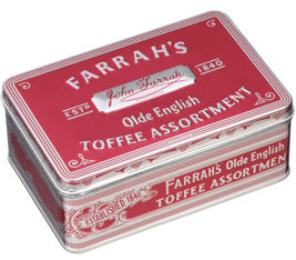 Farrahs Old English Toffee Assortment 227g