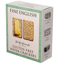 Fine English Gluten Free Water Crackers 170g