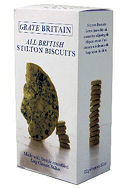 Grate Britain All British Stilton Biscuits 100g