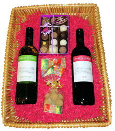 French Wine Giftbox Chocolates and Truffles