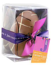 James Chocolates Milk Chocoloate Easter Egg 130g
