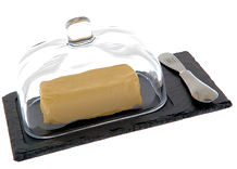 Just Slate Butter Dish and Cloche 22CM