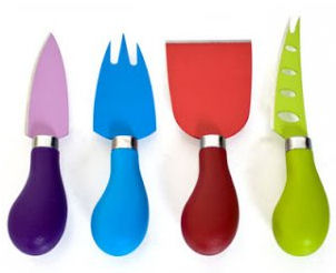 Kilo Cheese Knives 4pc