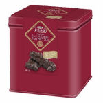 Lambertz Lebkuchen Festive Tin - Lebkuchen with Dark Chocolate & Almonds 120g